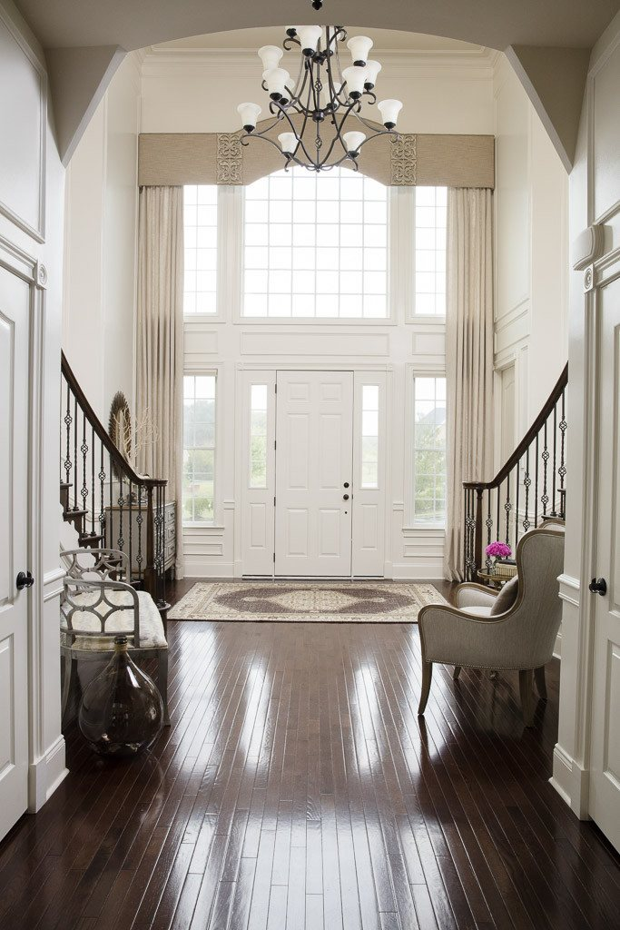 No Foyer Design : Two story foyer