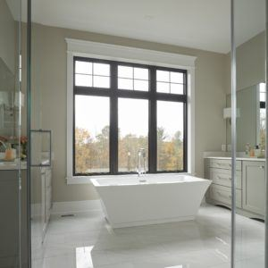 New home Master Bathroom Soaking Tub