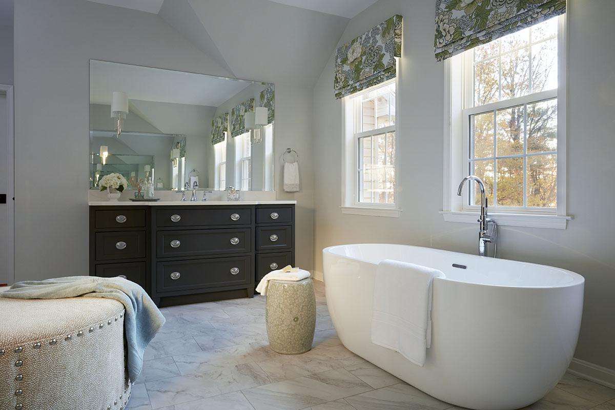 Master bath addition tub